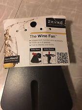 Wine Fan Bottle Stand Glass Holder Accessory Black Zevro Bar Gear New