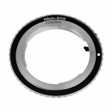 Sturdy Camera Lens Mount Adapter - Converts Nikon F Lens to Canon EOS EF & EF-S