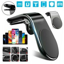 Universal Magnetic Car Phone Holder Air Vent Mount Bracket Clip For Mobiles GPS