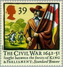 GREAT BRITAIN -1992- STANDARD BEARER - 350th Anniv of the Civil War - MNH--#1457