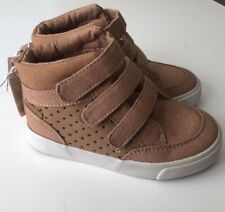 Old Navy Toddler Baby High Top Sneaker Boots Casual Shoe Boys Canvas Sz  8