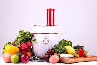 Electric Salad Maker | Professional Slicer, Shredder, Chopper, Grater & Grinder