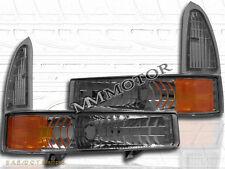 99-04 Smoke Excursion F250/350 Super Duty Bumper lights w/ Signal Corner Lights