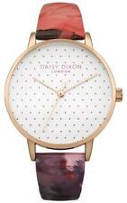 Beautiful Daisy Dixon Womens Suki Rose Gloss Leather Strap Watch DD008PRG
