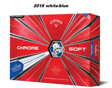 Callaway 2018 cromo suave Truvis pelotas de golf (1 docena azul)