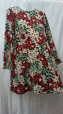 BNWT Zara stile Boho Hippy Estate Floreale Abito Mini Tunica Festival Wear Taglia Small