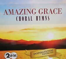 Amazing Grace NEW! 2 CD,INSPIRATIONAL CHORAL HYMNS ,20 SONGS,AMAZING GRACE,GIFT