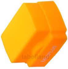 Universal Silicona Sunset Orange Flash Domo difusor para la mayoría de flashes las unidades