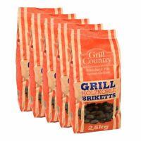 12,5 kg Premium Grill Briketts Grillkohle BBQ Holzkohle Holzkohlebriketts