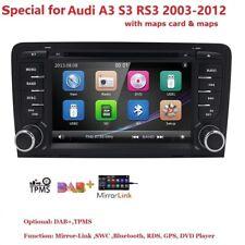 AUTORADIO NAVIGATORE DVD PER AUDI A3 S3 SPORTBACK 2008 2009 2010 2011 2012 2013