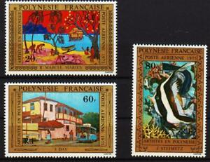 Polynesie Francaise, fish + shell, 1975, 1977, 1978, 1979, 1980, 1981, 1996 MNH