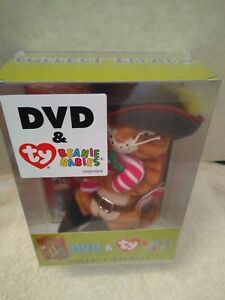 SHREK THE THIRD DVD with TY BEANIE TY PUSS IN BOOTS GIFT PACK   NEW