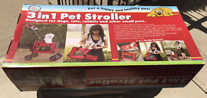 *NEW* Four Paws 3 in 1 Pet Stroller Carrier