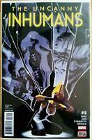The Uncanny Inhumans #16 Marvel Comic 2016 1st Print Unread NM
