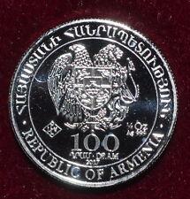 2017 Armenia Noah's Ark 1/4 oz .999 Silver 100 Dram Coin FREE SHIPPING!!