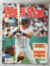1985 Boston Red Sox Yearbook