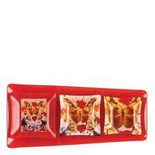 Hallmark by Enesco A28419 Salvador Dali Butterfly Valentine Glass Plate Set