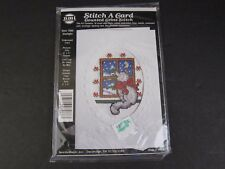 NMI Stitch a Card STARLIGHT Counted Cross Stitch Cat Holiday Christmas Kit 7066