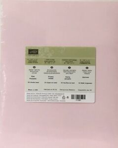Stampin Up PINK PIROUETTE Cardstock 8  1/2 x 11 Sealed 24 Sheets Retired