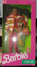 1990 United Colors of Benetton Christie Barbie NRFB