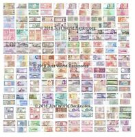 World Banknote Collection 100 Different Banknotes All Uncirculated 100 pcs UNC