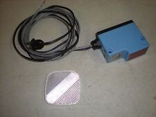 Sick Optik Model Wl 33-15 Photoelectric Sensor - 110Vac - Tests Ok
