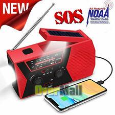 Emergency Radio Weather Radio Solar Power Hand Crank Usb Charge Radio Sos
