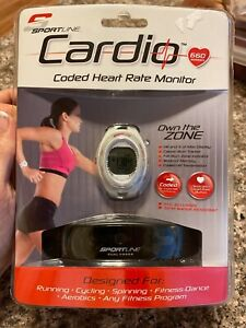 sportline cardio coded heart rate monitor model 660 Womens