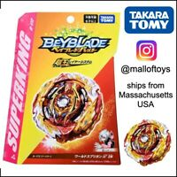 TAKARA TOMY Beyblade Burst SuperKing B-172 Booster World Spriggan.U' 2B IN STOCK
