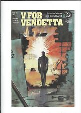 V For Vendetta #3 Iii Alan Moore Comic Book Vf 8.0 Dc 1988 See My Store