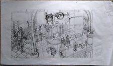 SWOLFS - Crayonné original poussé LE PRINCE DE LA NUIT
