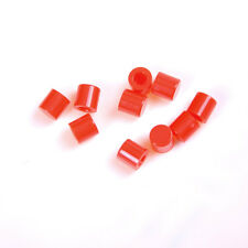 50Pcs Push-botton Cap for 6x6mm Momentary Tactile Switches Key Caps Red WI