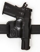 Belt Ride Leather Gun Holster LH RH For Glock 17 22 31 w/ CT Laserguard