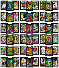 Colossal Pack of 54 Fuzzy Velvet 8x10 Inch Posters Stuff2Color