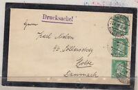 Germany 1928 Mourning Cover Altona To Denmark Postal History J3096