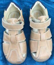 Primigi Toddlers Fisherman Sandals Shoes EU 25 US 8.5 Tan Light Brown