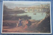 Claude Lorraine Art Postcard,Landscape Near Rome, Detail, Birmingham Art Gallery