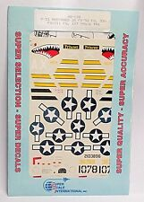 1/48 SuperScale Decals 48-138 P-51 MUSTANGS 26 FS/51 530 FS/311 FG 107 TRS mint
