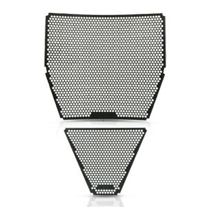 New Black Motorcycle Radiator Guard Set For Ducati Panigale V4 Speciale 2018+