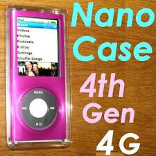 BELKIN 4th 4G gen Apple IPOD Nano Hard Case ~Aluminum Acrylic Shell~F8Z381 PNK
