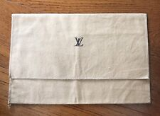 """Very Nice Louis Vuitton Auth. Fold Over Dust Cover 11.5""""x 5.5"""" - 29.4cm x 19.4cm"""