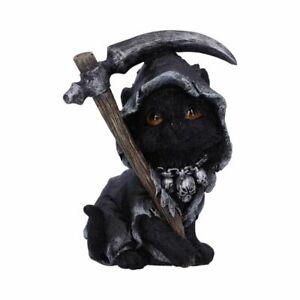 Nemesis Now - Amara - 10.2cm Mini Figurine Cat / Grim Reaper