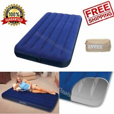 Camping Mattress Air Sleeping Inflatable Airbed Intex Twin Quickbed Pump Size