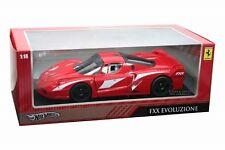 Hot Wheels Ferrari FXX Evolution Die Cast 1/18 RED T6245 NEW