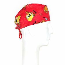 Spongebob Squarepants Having Burger Theme Scrub Hat