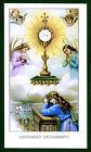Santino ANTICO SANTISSIMO SACRAMENTO IMAGE PIEUSE - HOLY CARD SANTINI
