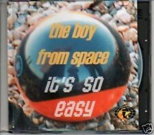 (286E) The Boy From Space, It's So Easy - DJ CD