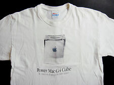 Apple Computers Shirt T Shirt 1999 Power Mac G4 Cube Think Different i Phone L