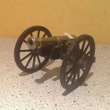 Vintage Painted Cast Iron/Metal Souvenir Gettysburg Model Cannon