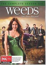 Weeds : Season 6 (DVD, 2011, 3-Disc Set)